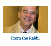 From the Rabbi